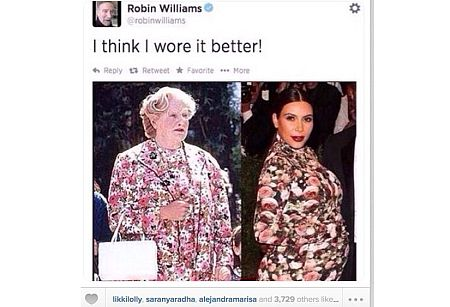 Mrs. Doubtfire vs. Mrs. West