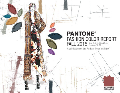 PR/Pressemitteilung: Pantone Fashion Color Report Fall 2015