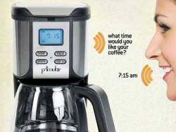 Sprechende Kaffeemaschine: Speak'n'Brew