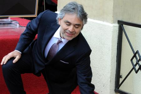 Andrea Bocelli ist Vater