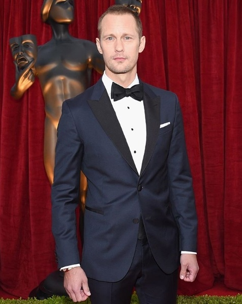 Alexander Skarsgard in Hugo Boss