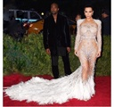 Kim als Cavalli Pfau - Hot or drop?