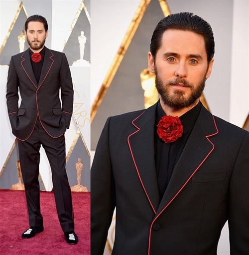 Jared Leto - Der Mann mit der Blume - Hot or Not?